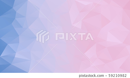 vector abstract irregular polygon background  59210982