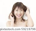 女人洗頭髮 59219796