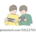 男孩一起玩遊戲 59222793