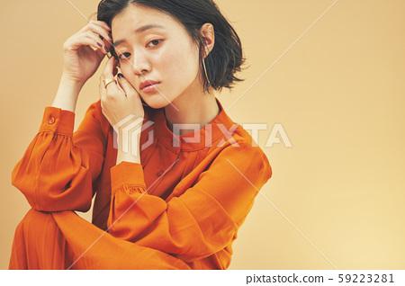 여성 인물 미용 59223281