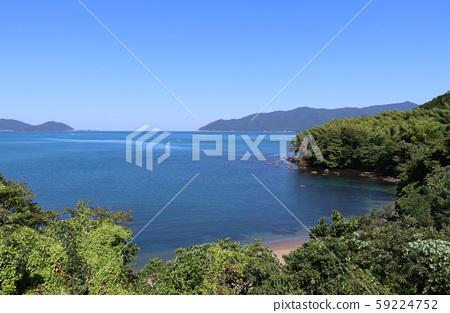 小浜湾의 바다 59224752