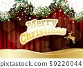 聖誕節背景材料 59226044