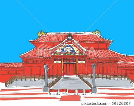 Shuri Castle 59226807