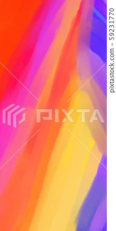 抽象的五顏六色的彩虹山插畫 59231770