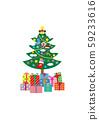 크리스마스 트리 59233616