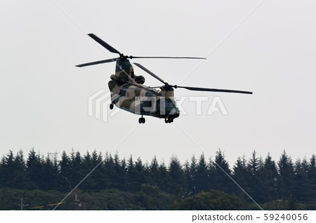 Air JSF's CH-47J transport helicopter 59240056