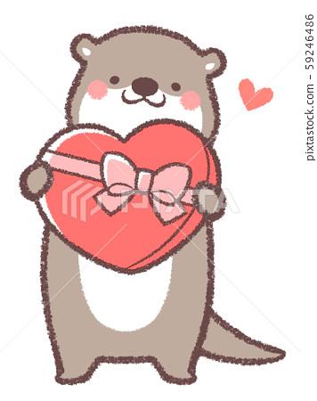 Otter Valentine 59246486