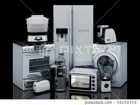 Set of kitchen and home appliances 59250359