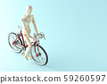 ride a bicycle 59260597
