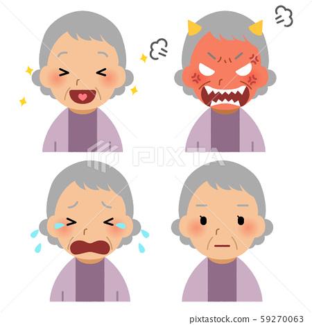 老女人的臉 59270063