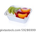 cake with yogurt and fresh fruit 59286999