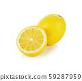 lemon isolated 59287959