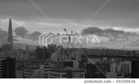 서울 하늘 59298616