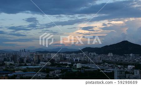 서울 하늘 59298689
