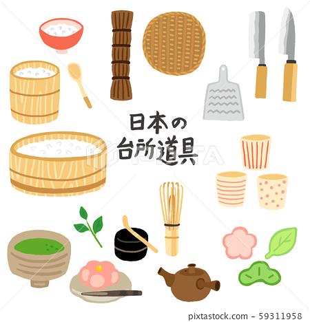 日本廚房用具 59311958