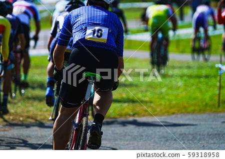 자전거 경기로드 레이스 자전거 스포츠 자전거 일본 풍경 챌린지 야외 지구력 59318958