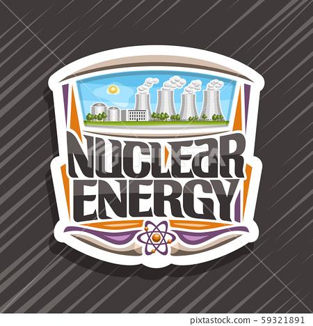 Vector logo for Nuclear Energy 59321891
