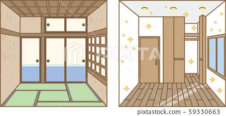 Japanese-style Western-style room 59330663