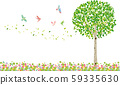 Tree: Tree Branch Nature Green Leaf Fresh Green Sprout Early Summer Summer Spring Eco Green 59335630