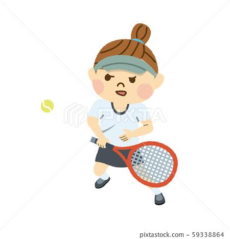 테니스 여자 59338864