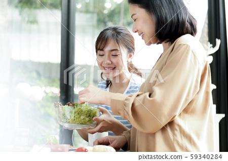 가족 생활 요리 59340284