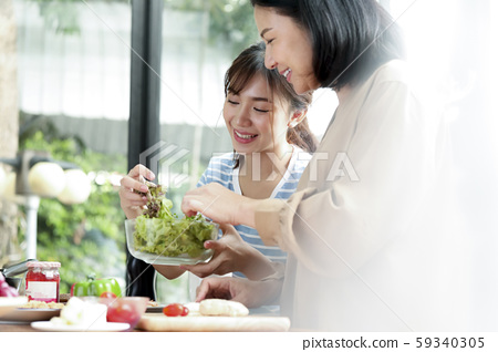 가족 생활 요리 59340305