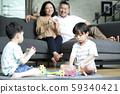 家庭生活方式四口之家 59340421