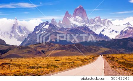 Cerro Torre and glaciers 59343243