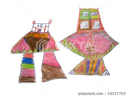 Robots in children's imagination 59357703
