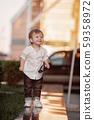 Baby child in white shirts 59358972