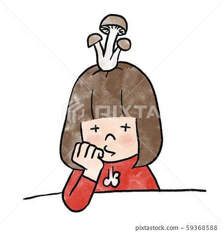 一個我不喜歡她蘑菇的女孩 59368588