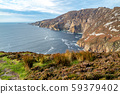 Slieve League Cliffs are among the highest sea cliffs in Europe rising 1972 feet above the Atlantic 59379402
