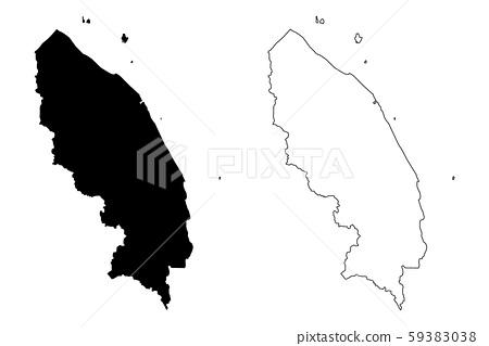Terengganu map vector.... 59383038
