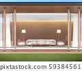 living room in modern contemporary style 3d render 59384561