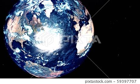 The earth 59397707