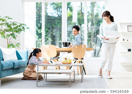 Young family 59416589