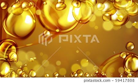mixing water and oil, beautiful color abstract background. 59417808