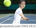 女子運動網球 59421813