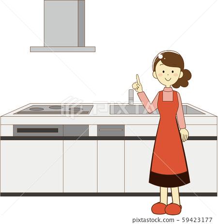 부엌, 주방, 키친 59423177