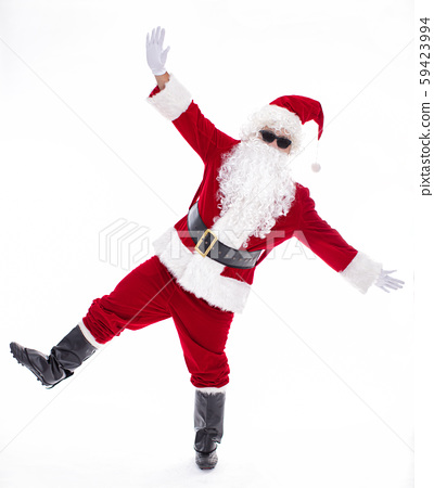 Happy  Santa Claus isolated on white background 59423994
