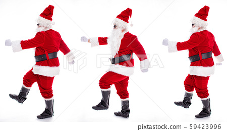 Happy  Santa Claus isolated on white background 59423996