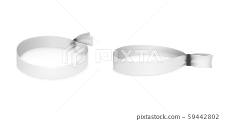 Festival party fabric wristbands 59442802