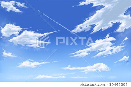 blue sky 59443095