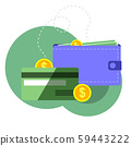 Payment concept isolated vector  59443222
