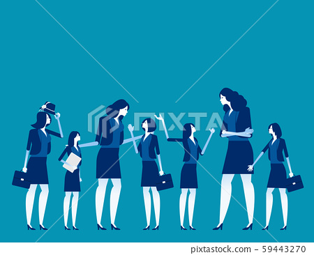 Business team talk and consult. Concept business 59443270