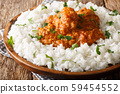 Traditional Indian Dhansak Chicken with lentils 59454552