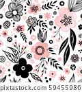 Floral seamless pattern 59455986