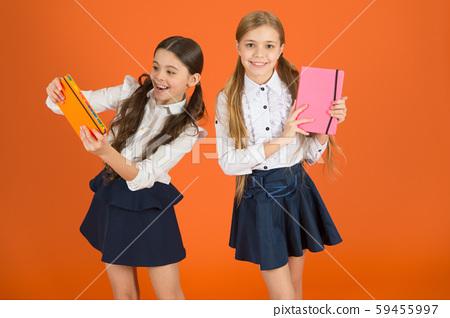Dear diary. School stationery. Girls cute kids 59455997