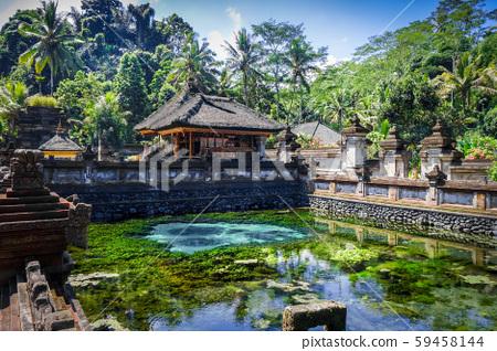 Pura Tirta Empul temple, Ubud, Bali, Indonesia 59458144