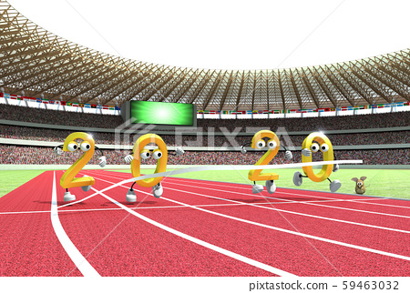2020 년 연하장 소재 올림픽 이어 59463032
